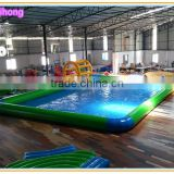 Giant PVC inflatable deep pool swimming pool, inflatable water pool for adults, inflatable unicorn pool float
