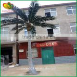 Factory price plastic coconut tree handmade artificial coconut palm tree for plaza decor                                                                                                         Supplier's Choice