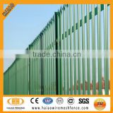 UK style steel palisade security fence ( high quality )