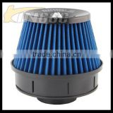 Universal Plastic cold air intake louver auto air filter