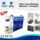 High speed Galvo Fiber Laser Marking Machine for Metal/Nonmetal
