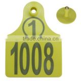 Passive RFID Animal Ear Tag for Sheep/Cow/Horse
