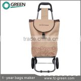 Climb Stairs Folding Shopping Cart Trolley With Wheels