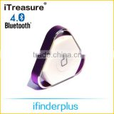 iTreasure Personal Safety Usage Tags,Smart Wireless Key Finder Tag,Bluetooth Alarm