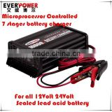 Everpower EPA1210 7 stage charge full automatic 12v 10 amp battery charger