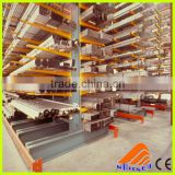 Storage used warehouse cantilever shelves,adjustable warehouse shelves,wall mounted industrial shelving