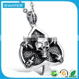 2016 Latest Selling Product Stainless Steel Jesus Head Pendant