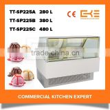 Accept Customized Ice Cream Freezer Display Upright Type Small Ice Cream Storage Freezers