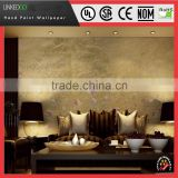 Good Quality Material Wallpaper Hotel hand-painting silk wallpaper