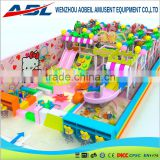 Used kids playground equipment playground indoor with big slide and ball pool