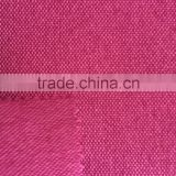 100% polyester fuax linen fabric thick yarn fabric