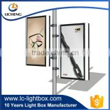 Outdoor street LED advertising light box for media
