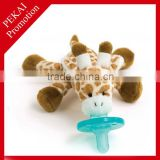 Soft toys with adult baby pacifier