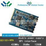 CC1101 Power Amplifier RF module Wireless module V-chip Professional High receiver sensitivity