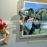 Top 2015 new products Dinosaur 9D Cinema, thrilling 5d 7d cinema equipment for amusement park