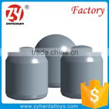 professional factory Type Q sintered spherical YG8 tungsten carbide buttons for mining tips
