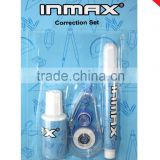 2016 hotselling correction pen/correction fluid/correction tape correction set