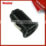 2013 newest mini dual usb car charger power supplies ac/dc one usb travel adaptors with CE&ROHS