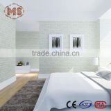 PVC material relief wallpaper 3d wpc furniture board mdf panel