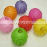 Holiday fashion paper lantern lamp shade