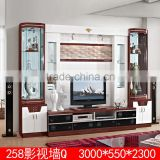2015 new wooden tv racks designs lcd wall mount tv