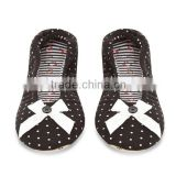 Cool style designer with bowknot ballet shoes slippers