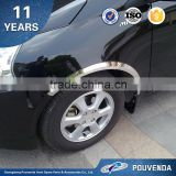 Stainless steel Chrome Wheel Fender Trim For Mitsubishi ASX