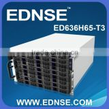6U 36 bays nas storage rack mount server case storage chassis