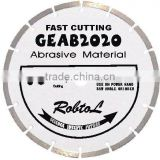 (GEAB)Segmented small diamond blade for fast cutting abrasive material--GEAB