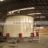 Biomass gasification gas supply system for boiler for sale rice husk gasifier power plant