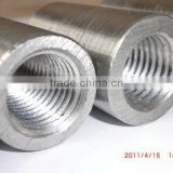 14-40mm Rebar Threaded Coupler, Rebar Sleeve, Corrugated Steel Bar Connector