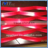 MT decorative anodized aluminium metal expanded wire mesh window guard
