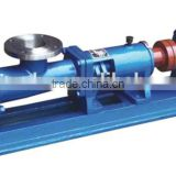 Pump for filter press as the feeding equipment,single screw pump of common used for filter press