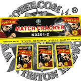 No. 1 Match Cracker With 2 Bangs Fireworks/Firecrackers/Toy Fireworks