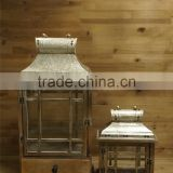 Wholesale Price Garden Lanterns Outdoor Wooden Hanging Candle Holders