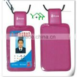 Novelty New Developed Plastic Student ID Card Holder with Safe Lock & Telescopic Line