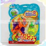 Summer game Plastic bubble water gun toy with light