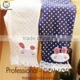 new models factory costom baby girls leggings fashion icing Cartoon wave lovely rabbit pattern