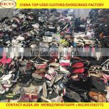 fairly used shoes in China Guangzhou used clothing and shoes high quality for West Africa Sierra Leone buyers