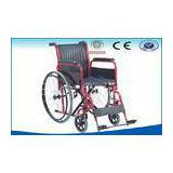 Manual Mobile Foldable Wheelchair For Patient / Disabled Ambulance
