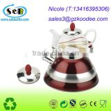 Great for tea taste Stainless Steel Tea Kettle with Copper Capsule Bottom