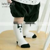 YESUN SU1039 New arrival OEM 100% Organic Cotton Happy Cute Plain White Baby Socks