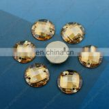 Dongzhou Crystal Round Flat Back Garment Stone for Sewing Cloth