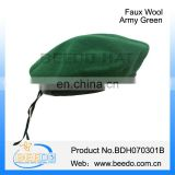 Fashion 100% polyester beret france decoration