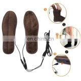 rubber foot pad USB Electric Powered Heated Insoles Keep Feet Warm Pad with USB Cable