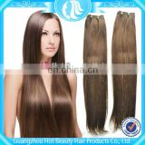 Top Model Brazilian 30 inch Human Hair Extensions Clip In