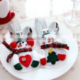 Snowman Christmas Silverware Holder Pockets By Collections