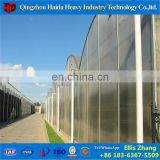 China Specialized factory used PC tomato greenhouse frames with Hydroponic System for sale