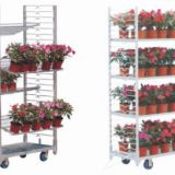 Horti greenhouse Danish CC flower display cart trolley
