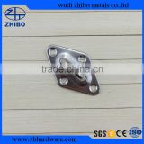 stainless steel diamond eye plate stainless steel eye plate
